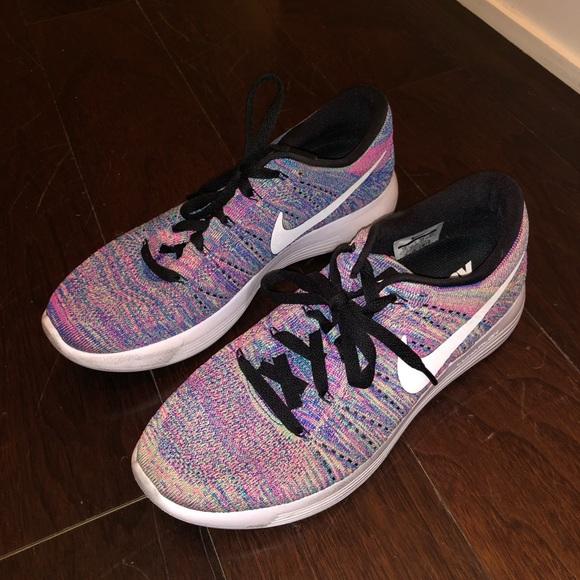 rainbow nike shoes